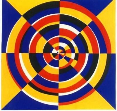 Konzentrisch spiralisierend II (1993)