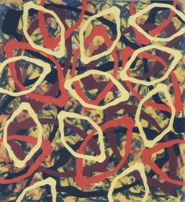 Anamorphose der Konzentrik 1 (2005)