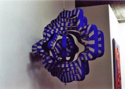Anamorphose der konzentrischen Kreise (1992)